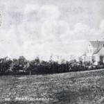 Møllen og præstegården